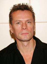 Larry Mullen, Jr. at the Union Square Barnes & Noble bookstore to sign copies of their new book