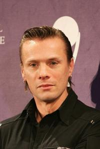 Larry Mullen, Jr. at the 20th Annual Rock And Roll Hall Of Fame Induction Ceremony.