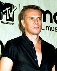Larry Mullen, Jr. at the MTV Video Music Awards.