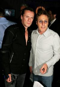 Larry Mullen, Jr. and Roger Daltrey at the Nordoff-Robbins Silver Clef Awards.