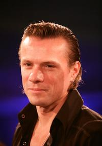 Larry Mullen, Jr. at the Nordoff-Robbins Silver Clef Awards.