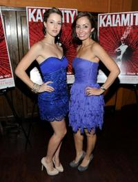 Alona Tal and Juliana Penaranda-Loftus at the premiere of