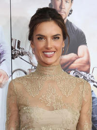 Alessandra Ambrosio at the New York premiere of