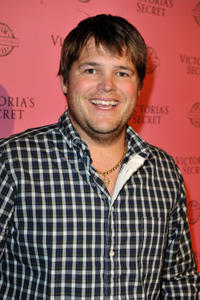 Jareb Dauplaise at the 2011 Victoria's Secret SWIM Collection Pink Carpet Event in California.