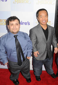 Joey Gnoffo and Ronald Lee Clark at the California premiere of