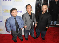 Joey Gnoffo, Ronald Lee Clark and Sebastian Saraceno at the California premiere of