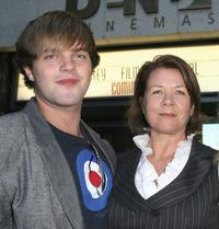 Harry Cook and Sarah Woods at the official launch for the Sydney Film Festival.
