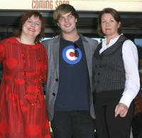 Clare Stewart, Harry Cook and Sarah Woods at the official launch for the Sydney Film Festival.