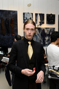 Caleb Landry Jones at the portrait studio during 2012 Toronto International Film Festival.