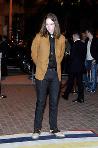 Caleb Landry Jones at the premiere of