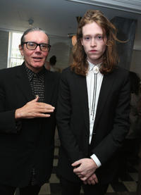 Stephen Woolley and Caleb Landry Jones at the WestEnd Films and Grey Goose Vodka party for