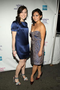 Candace Scholz and Caitlin Gold at the New York premiere of