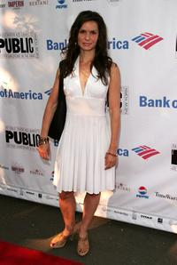 Florencia Lozano at the opening night of