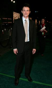 Adam Rothenberg at the premiere of