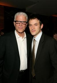 Ted Danson and Adam Rothenberg at the after party of the premiere of