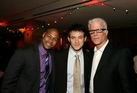 Finesse Mitchell, Adam Rothenberg and Ted Danson at the after party of the premiere of