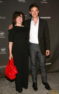 Gillian Rothenberg and Adam Rothenberg at the after party of