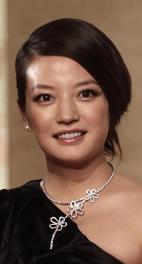 Vicky Zhao at the closing ceremony of the 13th Shanghai International Film Festival.