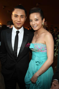 Vicky Zhao and Guest at the 100 Years Of Hong Kong Cinema Party during the 62nd International Cannes Film Festival.