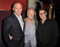 Joe Drake, Tobin Bell and Director David Hackl at the premiere of