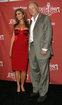 Betsy Russell and Tobin Bell at the Spike TV's Scream 2007.