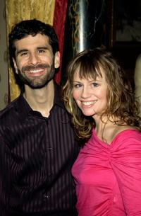 John Cariani and Sally Murphy at the after party of