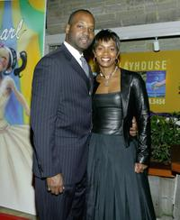 Vanessa Bell and her husband at the Gala Benefit for Debbie Allen's musical Pearl.