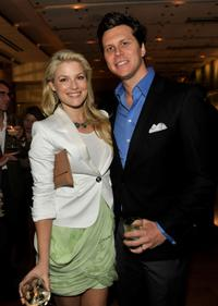 Ali Larter and Hayes MacArthur at the FEED Foundation/Hungry In America project benefit hosted by Vanity Fair.