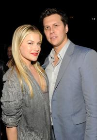 Ali Larter and Hayes MacArthur at the Calvin Klein Collection's Special Evening and Cocktail Party.