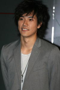 Kenichi Matsuyama at the promotion of