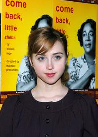 Zoe Kazan at the after party of the opening night of