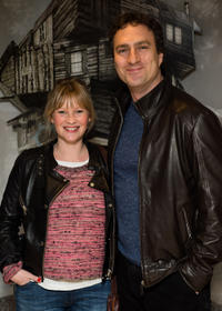 Joanna Page and James Thornton at the world premiere of