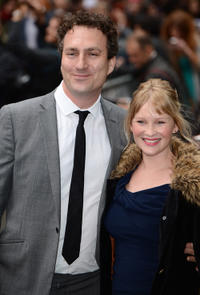 James Thornton and Joanna Page at the European premiere of