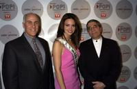 Rob Stoddard, Denise Quinones and Steve Villano at the First Annual Cable Positive's Positively Outstanding Programming (POP) Awards.