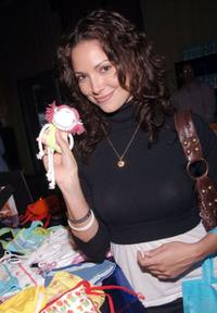 Denise Quinones at the People En Espanol Celebration of 50 Most Beautiful Gifting Suite.