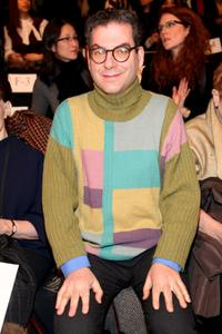 Michael Musto at the Chado Ralph Rucci Fall 2009 fashion show during the Mercedes-Benz Fashion Week.