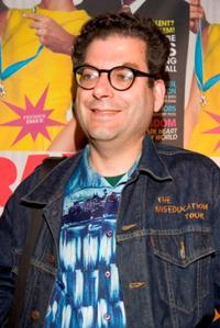 Michael Musto at the launch of Radar Magazine.