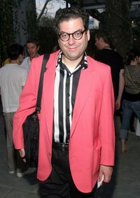 Michael Musto at the H and M Live From Central Park fashion show.