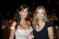 Ornella Muti and Elissa at the Lebanese designer Elie Saab's Autumn/Winter 2005-06 Haute Couture collections.