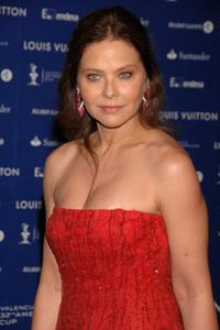 Ornella Muti at the Americas Cup Match