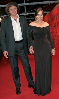 Ornella Muti and Stefano Piccolo at the 70 years of Cinecitta Studios Party.