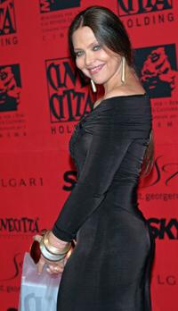 Ornella Muti at the 70 years of Cinecitta Studios Party.