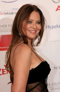 Ornella Muti at the 35th German Film Ball at the Bayerischer Hof.