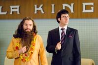 Mike Myers as Guru Pitka and John Oliver as Dick Pants in
