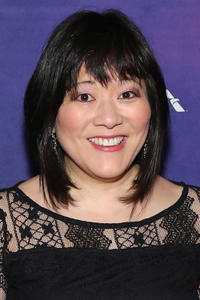 Ann Harada at the Broadway opening night of