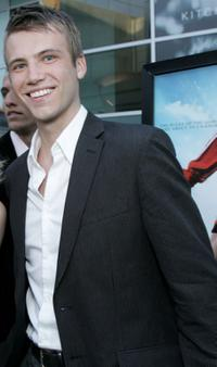 Christopher Shand at the premiere of