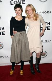 Mara Palumbo and Emma Bell at the 2008 Sundance Film Festival.