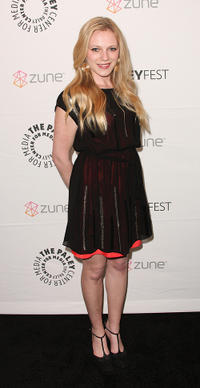 Emma Bell at the premiere of