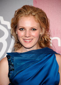 Emma Bell at the 2011 InStyle and Warner Bros. 68th Annual Golden Globe Awards party in California.
