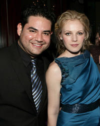 Juan Gabriel Pareja and Emma Bell at the 2011 InStyle and Warner Bros. 68th Annual Golden Globe Awards party in California.
